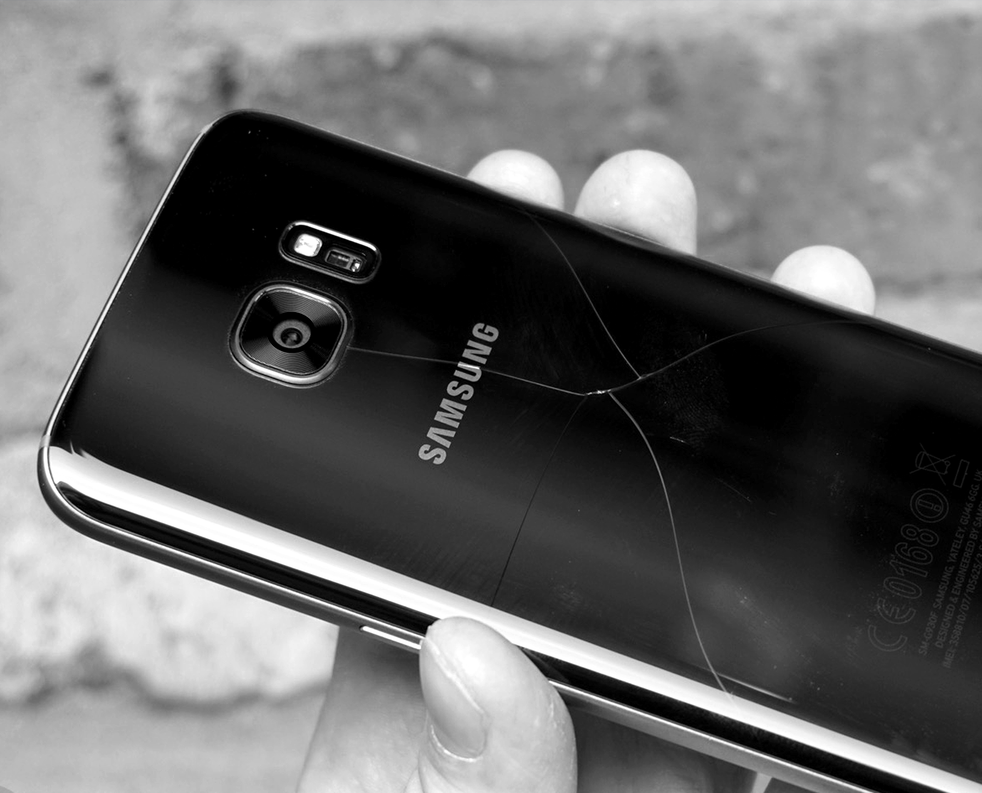 YouTube Reparaturanleitung Samsung Galaxy S7 Back Cover Austausch