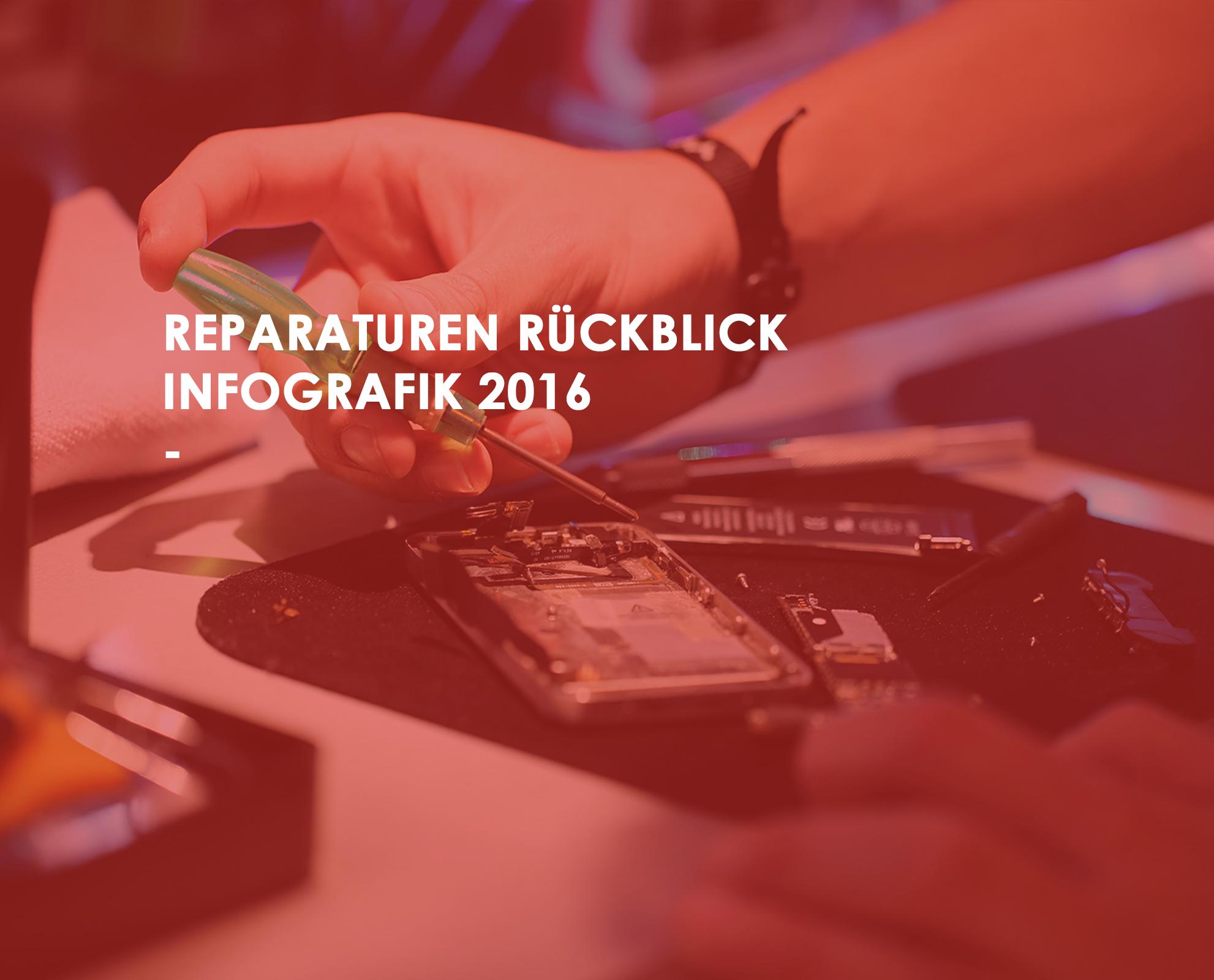 Reparaturen Rückblick 2016